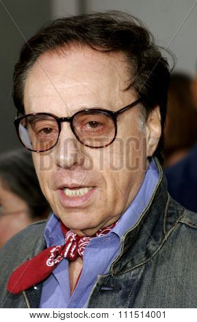 Peter Bogdanovich attends the Los Angeles Premiere of