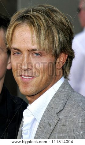 Larry Birkhead attends the Los Angeles Premiere of