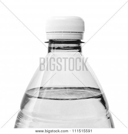 Black And White Bottle Of Water