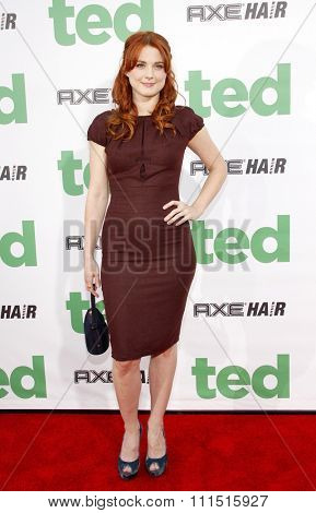 Alexandra Breckenridge at the Los Angeles premiere of 'Ted