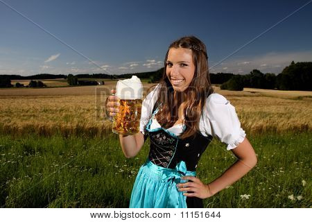 bavarian girl
