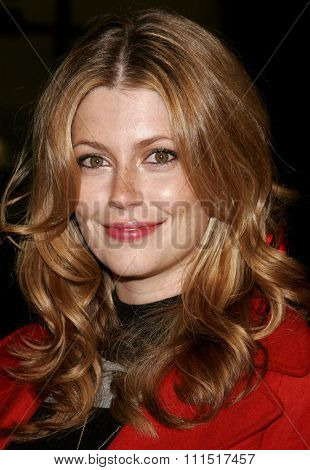 Diora Baird attends the Premiere of 'Snakes on a Plane' held at the Grauman's Chinese Theater in Hollywood, California on August 17, 2006.