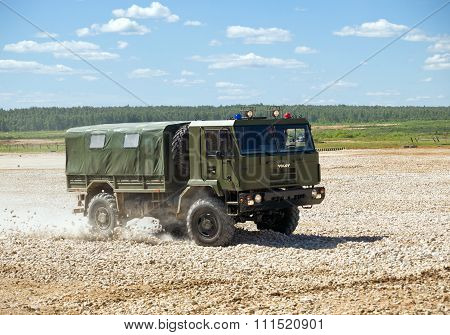 Belarusian military truck
