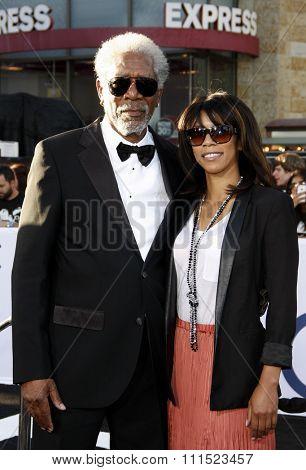 Morgan Freeman at the