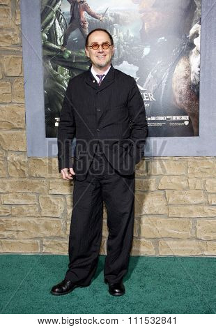John Kassir at the Los Angeles premiere of