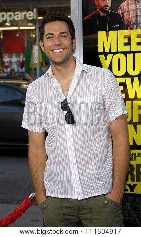 Zachary Levi at the Los Angeles premiere of 'Horrible Bosses' held at the Grauman's Chinese Theatre in Hollywood on June 30, 2011.