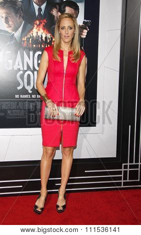 Kim Raver at the Los Angeles premiere of 'Gangster Squad' held at the Grauman's Chinese Theatre in Hollywood on January 7, 2013.