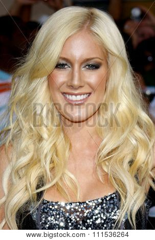 Heidi Montag at the Los Angeles special screening of 'G.I. Joe: The Rise Of The Cobra' held at the Grauman's Chinese Theatre in Hollywood on August 6, 2009.