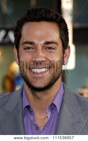 Zachary Levi at the Los Angeles premiere of 'Green Lantern' held at the Grauman's Chinese Theatre in Hollywood on June 15, 2011.