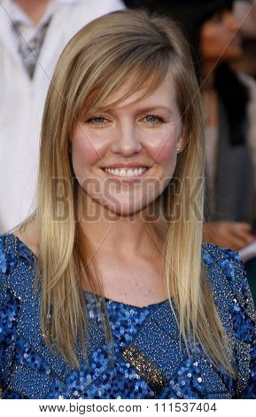 Ashley Jensen at the Los Angeles premiere of 'Gnomeo And Juliet' held at the El Capitan Theatre in Hollywood on January 23, 2011.