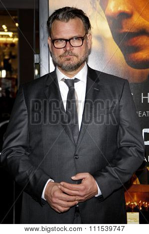 Yorick van Wageningen at the Los Angeles premiere of 'Blackhat' held at the TCL Chinese Theatre in Hollywood on January 8, 2015.