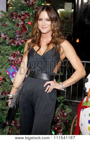 Danneel Harris at the Los Angeles premiere of 'A Very Harold & Kumar 3D Christmas' held at the Grauman's Chinese Theater in Hollywood on November 2, 2011.