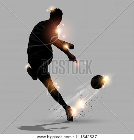 Abstract Soccer Speed Shoot