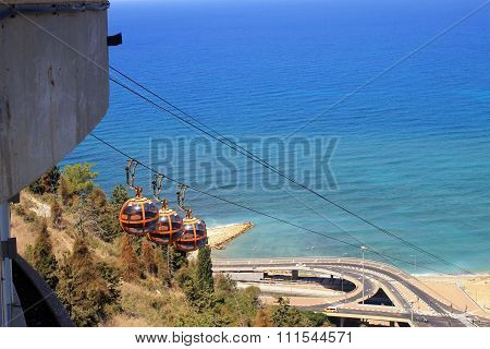 Haifa Cable Cars, Israel