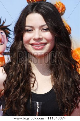 September 12, 2009. Miranda Cosgrove at the Los Angeles premiere of