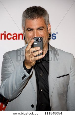 Taylor Hicks at the 19th Annual Race To Erase MS held at the Hyatt Regency Century Plaza in Century City, USA on May 18, 2012.