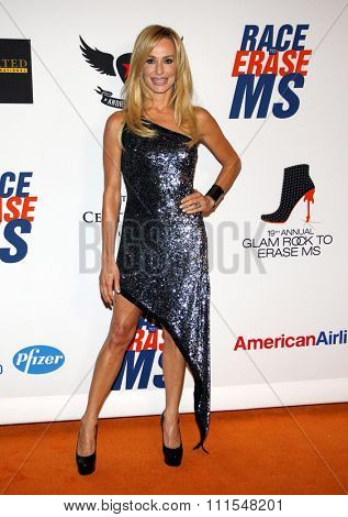 Taylor Armstrong at the 19th Annual Race To Erase MS held at the Hyatt Regency Century Plaza in Century City, USA on May 18, 2012.
