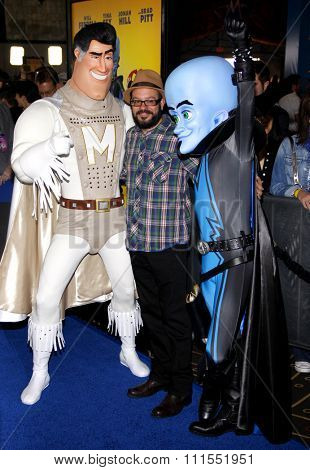 David Cross at the Los Angeles premiere of 'Megamind' held at the Hollywood and Highland in Hollywood, USA on October 30, 2010.