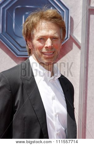 Jerry Bruckheimer at the World premiere of 'G-Force' held at the El Capitan Theater in Hollywood, USA on July 19, 2009.