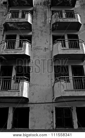 Derelict Property In A Bad State Of Repair