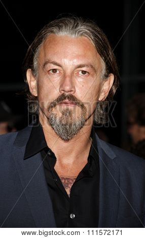 August 30, 2011. Tommy Flanagan at the Season 4 premiere of FX Network's
