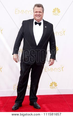 LOS ANGELES, CA - AUGUST 25, 2014: Eric Stonestreet at the 66th Annual Primetime Emmy Awards held at the Nokia Theatre L.A. Live in Los Angeles, USA on August 25, 2014.