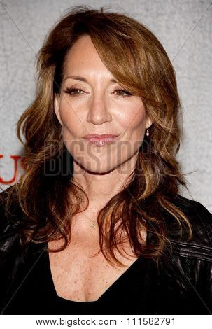 HOLLYWOOD, CA - MARCH 08, 2010: Katey Sagal at the premiere screening of FX's 'Justified' held at the DGA Theater in Hollywood, USA on March 8, 2010.