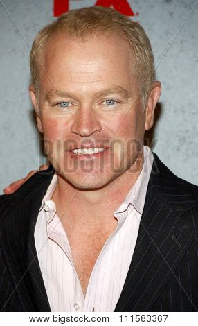HOLLYWOOD, CA - JANUARY 10, 2012: Neal McDonough at the FX's Season 3 Screening of 'Justified' held at the DGA Theater in Los Angeles, USA on January 10, 2012.
