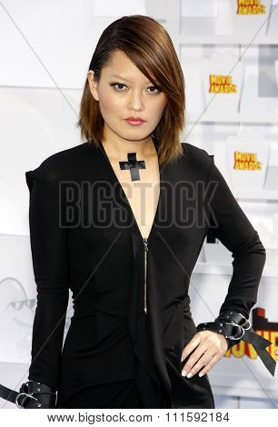 Hana Mae Lee at the 2015 MTV Movie Awards held at the Nokia Theatre L.A. Live in Los Angeles, USA on April 12, 2015.