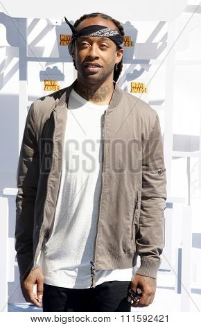 Ty Dolla Sign at the 2015 MTV Movie Awards held at the Nokia Theatre L.A. Live in Los Angeles, USA on April 12, 2015.