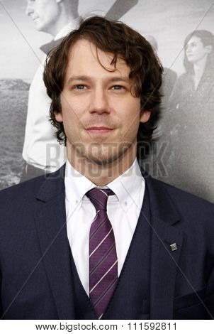 John Gallagher Jr. at the HBO's Season 2 Premiere Of