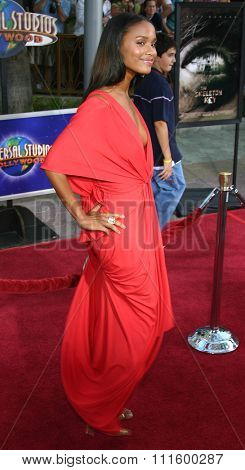 UNIVERSAL CITY, CALIFORNIA. August 2, 2005. Joy Bryant attends the