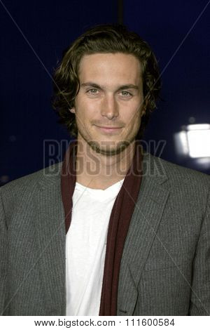 Oliver Hudson at The WB Network's 2004 All Star Party- Red Carpet & Party at The Lounge At Astra West in Los Angeles, USA on July 14, 2004.