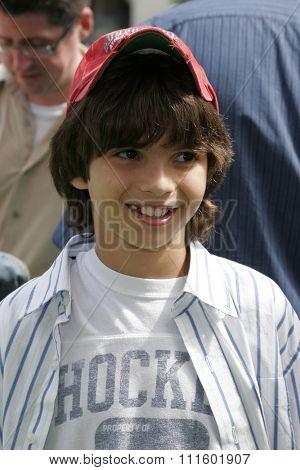 Zach Tyler Eisen at the Los Angeles premiere of