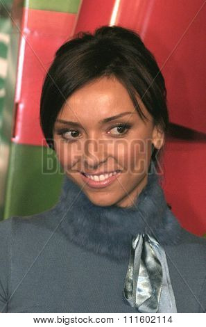 Giuliana Rancic at the Los Angeles premiere of 'Surviving Christmas' held at the Grauman's Chinese Theatre in Hollywood, USA on October 14, 2004.