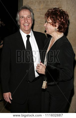 Henry Winkler and Marion Ross  attend the 56th Annual ACE Eddie Awards held at the Beverly Hilton Hotel in Beverly Hills, California on February 19, 2006.