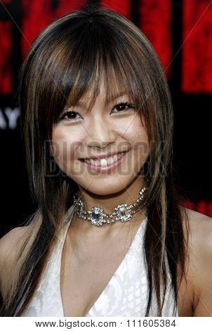 BUENA PARK, CALIFORNIA. October 8, 2006. Misako Uno attends the World Premiere of
