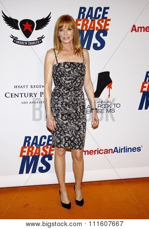 Marg Helgenberger at the 19th Annual Race To Erase MS held at the Hyatt Regency Century Plaza in Los Angeles, California, United States on May 18, 2012.