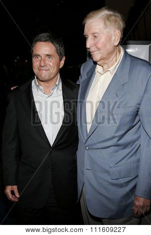 HOLLYWOOD, CALIFORNIA. September 13, 2006. Sumner Redstone and Brad Grey at the Los Angeles Premiere of