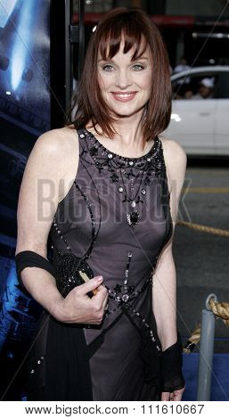 HOLLYWOOD, CALIFORNIA. May 10, 2006. Pamela Sue Martin attends the Los Angeles Premiere of