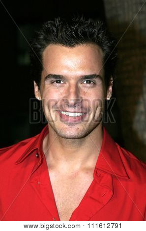 Antonio Sabato Jr. at the Los Angeles premiere of 'Sideways' held at the Academy of Motion Pictures Arts and Sciences in Beverly Hills, USA on October 12, 2004.