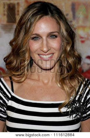 HOLLYWOOD, CALIFORNIA. November 12, 2006. Sarah Jessica Parker attends the World Premiere of