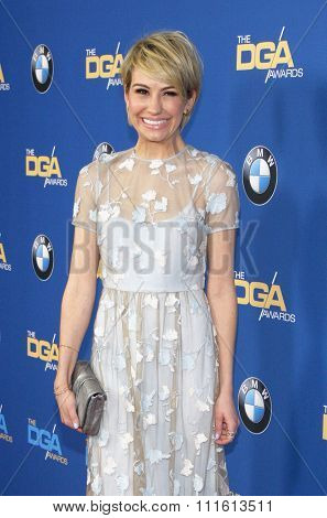 Chelsea Kane at the 66th Annual Directors Guild Of America Awards held at the Hyatt Regency Century Plaza in Los Angeles, USA on January 25, 2014.