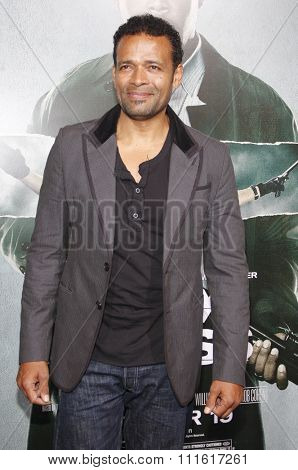 Mario Van Peebles at the Los Angeles premiere of 'Alex Cross' held at the ArcLight Cinemas in Los Angeles, USA on October 15, 2012.