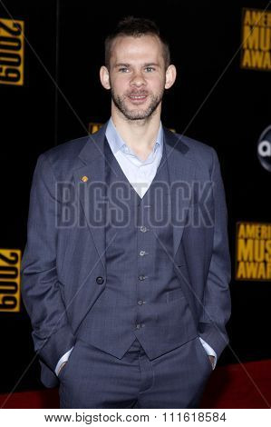 Dominic Monaghan at the 2009 American Music Awards at Nokia Theatre L.A. Live in Los Angeles, USA on November 22, 2009.