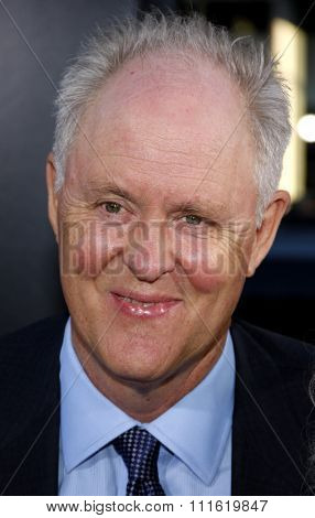 John Lithgow at the Los Angeles premiere of 'Rise Of The Planet Of The Apes' held at the Grauman's Chinese Theatre in Hollywood, USA on July 28, 2011