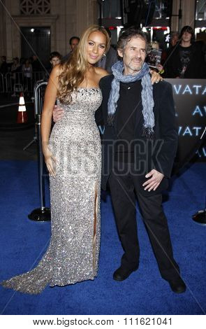 Leona Lewis and James Horner at the Los Angeles premiere of 'Avatar' held at the Grauman's Chinese Theatre in Hollywood, USA on December 16, 2009.
