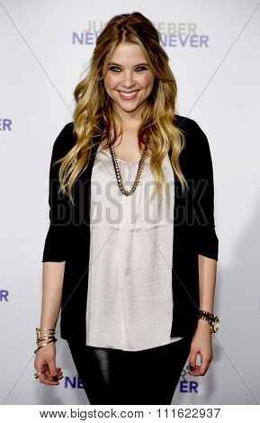 Ashley Benson at the Los Angeles Premiere of