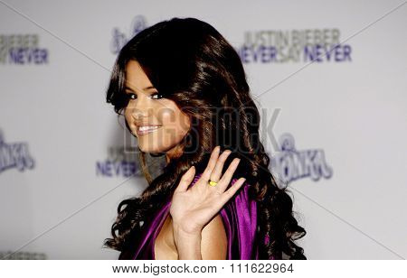 Selena Gomez at the Los Angeles Premiere of