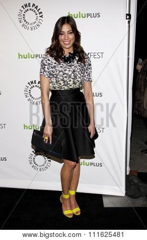 HOLLYWOOD, CALIFORNIA - March 8, 2012. Michaela Conlin at the PaleyFest 2012 Presents